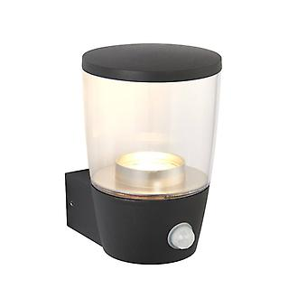 Canillo wandlamp met detector, plastic