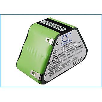 Bateria para Dirt Devil Vacuum 0030013 L3-R2-F4-N2 M030 M3120 3000mAh 10.8V 32Wh