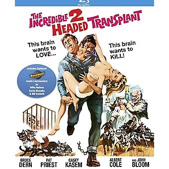 Ongelooflijke twee-leiding transplantatie (met optioneel) [Blu-ray] USA import