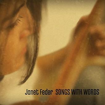 Janet Feder - Songs with Words [CD] USA importieren