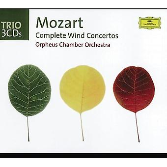 W.a. Mozart-Mozart: kompletta Wind Concertos [CD] USA import