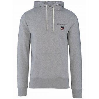 GANT ग्रे Hooded Sweatshirt