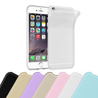 Cadorabo Funda para Apple iPhone 6 / iPhone 6S Funda de Funda - TPU tPU flexible caso de silicona Ultra delgado parachoques de la funda trasera suave