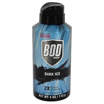 BZV Man donkere ijs door Parfums De Coeur Body Spray 4 oz/120 ml (mannen)