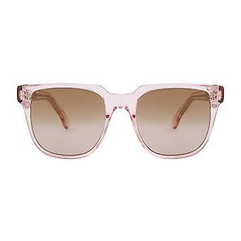 Paul Smith AUBREY PSSN010V1 04 Blush Crystal/Brown Gradient Sunglasses