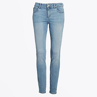 DL1961  - Florence Mid-Rise Skinny Jeans - Light Blue