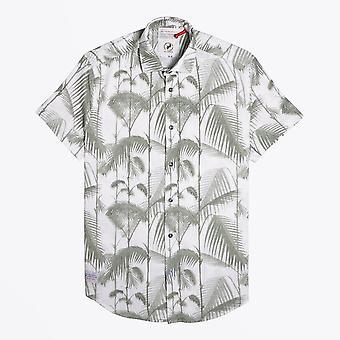 سمكة اسمه فريد - الخيزران طباعة قصيرة قميص الأكمام - الأخضر