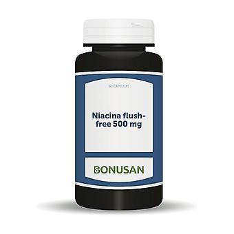 Flush-Free Niacina 60 capsules of 500mg