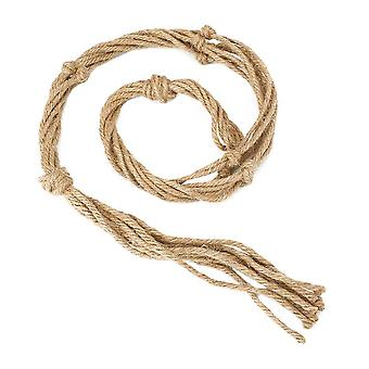 Rope Hemp Macrame, Plant Flower Hanging Pot, Holder, Basket