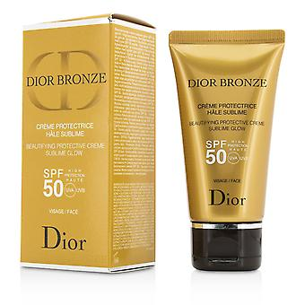 Dior bronse beautifying beskyttende creme sublime glød spf 50 for ansikt 204014 50ml/1.8oz