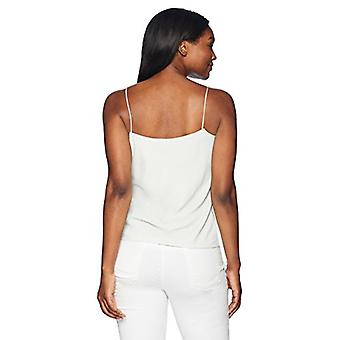 Brand - Lark & Ro Women's Camisole Top, Ivory/Black Stripe, 10
