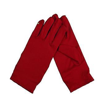 Κυρίες Βράδυ Φορούν Σατέν Κοντά Γάντια Καρπού