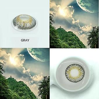 2pcs/pair 3 Tone Series Colored Contact Lenses For Eyes Colored Eye Lenses Color Contacts