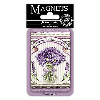 Stamperia Lavender Bouquet 8x5.5cm Magnet