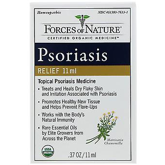 Forces of Nature, Psoriasis Relief, 0.37 oz (11 ml)