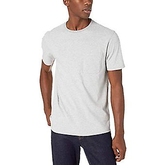 Marke - Goodthreads Men's Short-Sleeve Sueded Jersey Crewneck Pocket T...