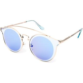 Sunglasses Unisex Cat.2 Blue Lens (19-120)