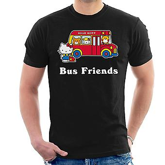Ciao Kitty Bus Amici Uomini's T-Shirt