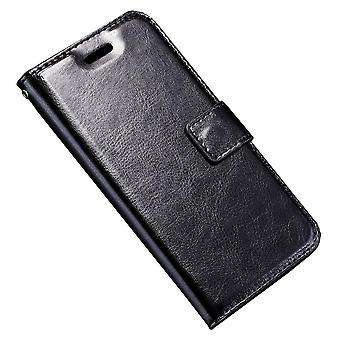 Shell for Apple iPhone X Luxury Case Protection Wallet Black Leather Card Holder