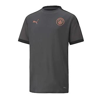 2020-2021 مانشستر سيتي تدريب قميص (الأسفلت) - أطفال
