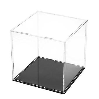 Clear Acrylic Display Case Dust Proof - Toy Showcase
