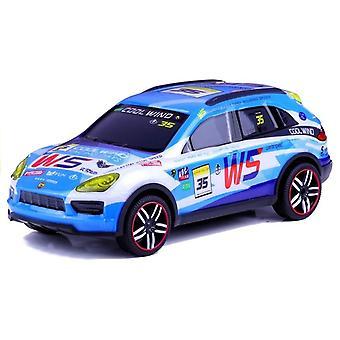 Controle remoto do carro esportivo de controle remoto R / C azul celeste