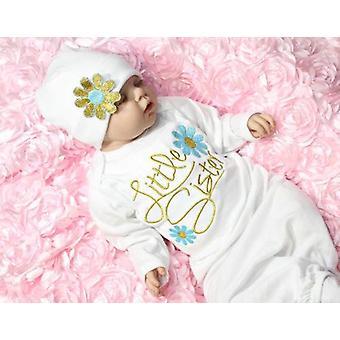 طفل حديث الولادة ملابس فتاة - هدية عيد الميلاد مجموعة ثوب رداء