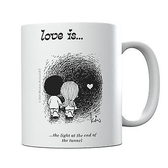 Rakkaus on valo tunnelimukin päässä