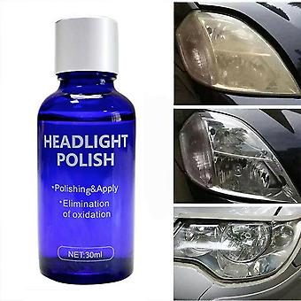 High Density Headlight Polish Liquid Cars Restoration Fluid Durable Repairing Kit