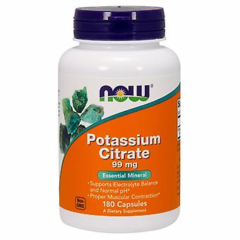 Now Foods Potassium Citrate, 99 mg, 180 Caps