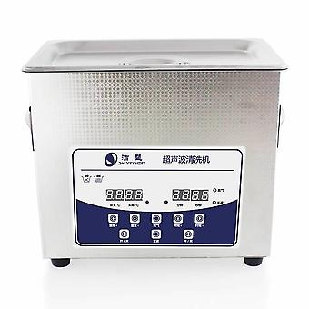 3.2l Professional Ultrasonic Cleaner Machine With Digital Touchpad Timer Heated Stainless Steel Tank Capacity Adjustable