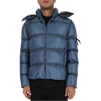 Moncler Craig Green 1a50310c0624720 Men's Blue Nylon Down Jacket