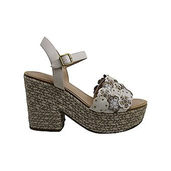 Coach Womens Jae Leather Peep Toe Casual Ankle Strap Sandals