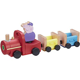 Peppa Pig, Wooden Toy - Grandpa Pigs Train