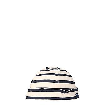 Saint James 946050 Men's White/blue Cotton Hat