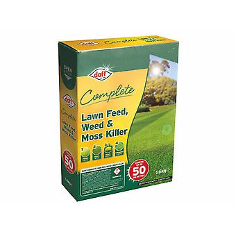 Doff Complete Lawn Feed Weed & Moss Killer 1.6kg F-LM-050-DOF-02