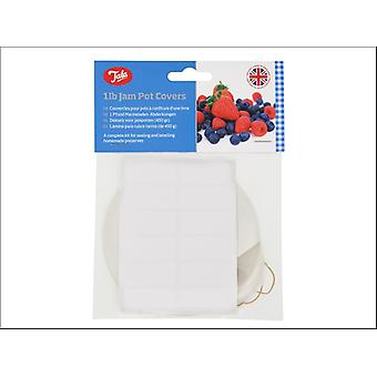 Tala Jam Pot Covers 1lb x 24 10A01220