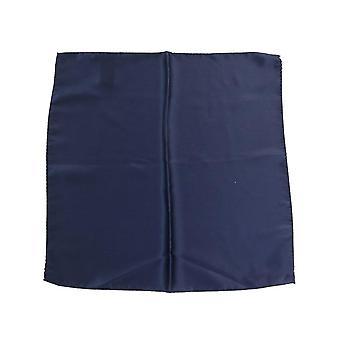 Dolce & Gabbana Sininen neliö Silkki nenäliina