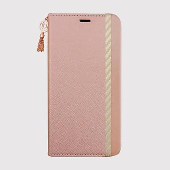 Boîtier élégant folio pink iPhone 11