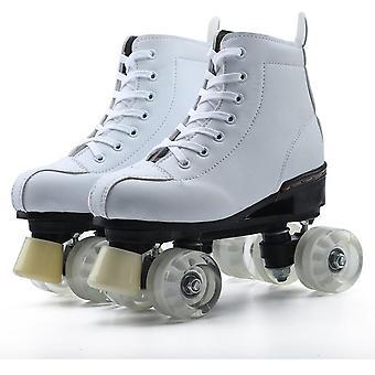 الأطفال & apos;ق أحذية التزلج على الجليد رباعية العجلات والنساء- أحذية المبتدئين في الهواء الطلق