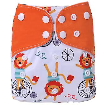 Reusable Pocket Adjustable Baby Nappies Suede Inner Cloth Diaper Washable
