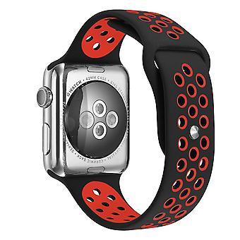Für Apple Watch 42/44mm L Silikon Sport Watch Band