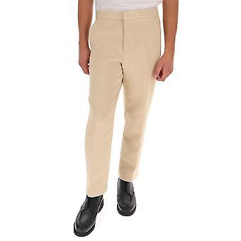 Opening Ceremony Ymca003f20fab0010400 Men's Beige Cotton Pants