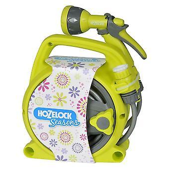 Hozelock Seasons Pico Reel and Spray Gun Set - Lime