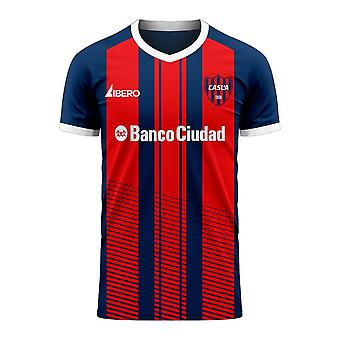 San Lorenzo 2020-2021 Home Concept Football Kit (Libero) - Adult Long Sleeve