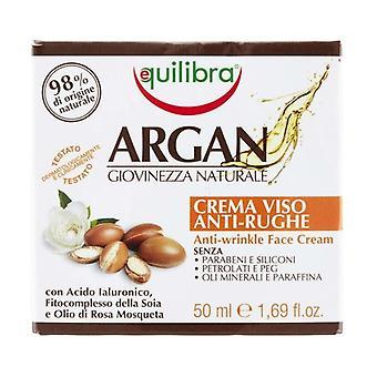 Argan Anti-Wrinkle Face Cream 50 ml of cream