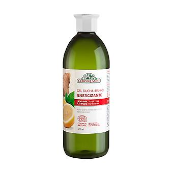 Energizing Shower Gel With Ginger and Citrus Extract Sensitive Skin 600 ml of gel