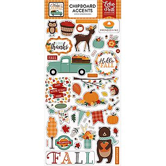 Echo Park Happy Fall 6x13 Inch Chipboard Accents