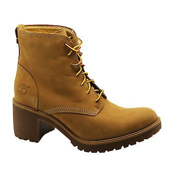 Timberland Earthkeepers EK Averly Heeled Boots Womens Shoes Wheat 8562B B99E
