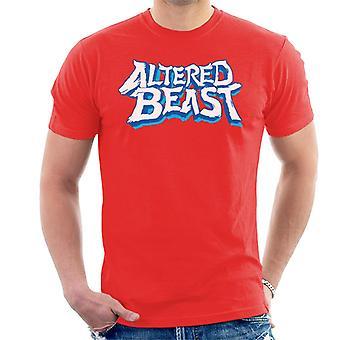 Sega Endret Beast Logo Menn&amoer;s T-skjorte